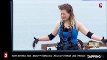 Fort Boyard 2016 : EnjoyPhoenix en larmes pendant une épreuve terrible