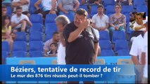 Record des 1000 boules à Béziers : Philippe Quintais avec humour !