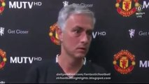 Wigan vs Manchester United 0-2 - Jose Mourinho First Post Match Interwiew (FULL)