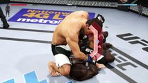 EA SPORTS UFC 2 ● MIDDLEWEIGHT ● MMA UFC MIX FIGHT 2016 ● DEREK BRUNSON VS GEGARD MOUSASI