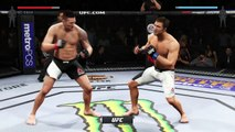 EA SPORTS UFC 2 ● MMA UFC FIGHT 2016 ● MMA UFC MIX FIGHT ● 2016 CHRIS WEIDMAN VS LUKE ROCKHOLD