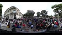 Bastille Day celebrations - Festive Paris parade in 360