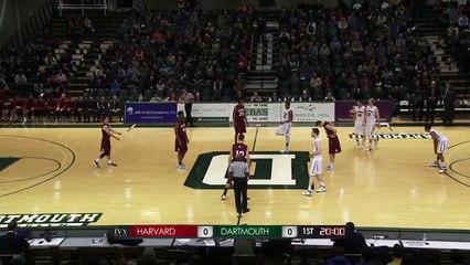 Game Recap: Harvard Men's basketball at Dartmouth - Jan. 23, 2016
