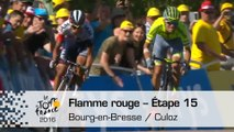 Flamme rouge - Étape 15 (Bourg-en-Bresse / Culoz) - Tour de France 2016