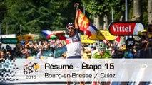 Résumé - Étape 15 (Bourg-en-Bresse / Culoz) - Tour de France 2016