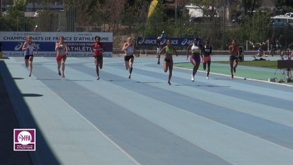 CF Espoirs : Finale 200 m Espoirs Femmes