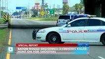 Baton Rouge shooting: three officers killed, three injured