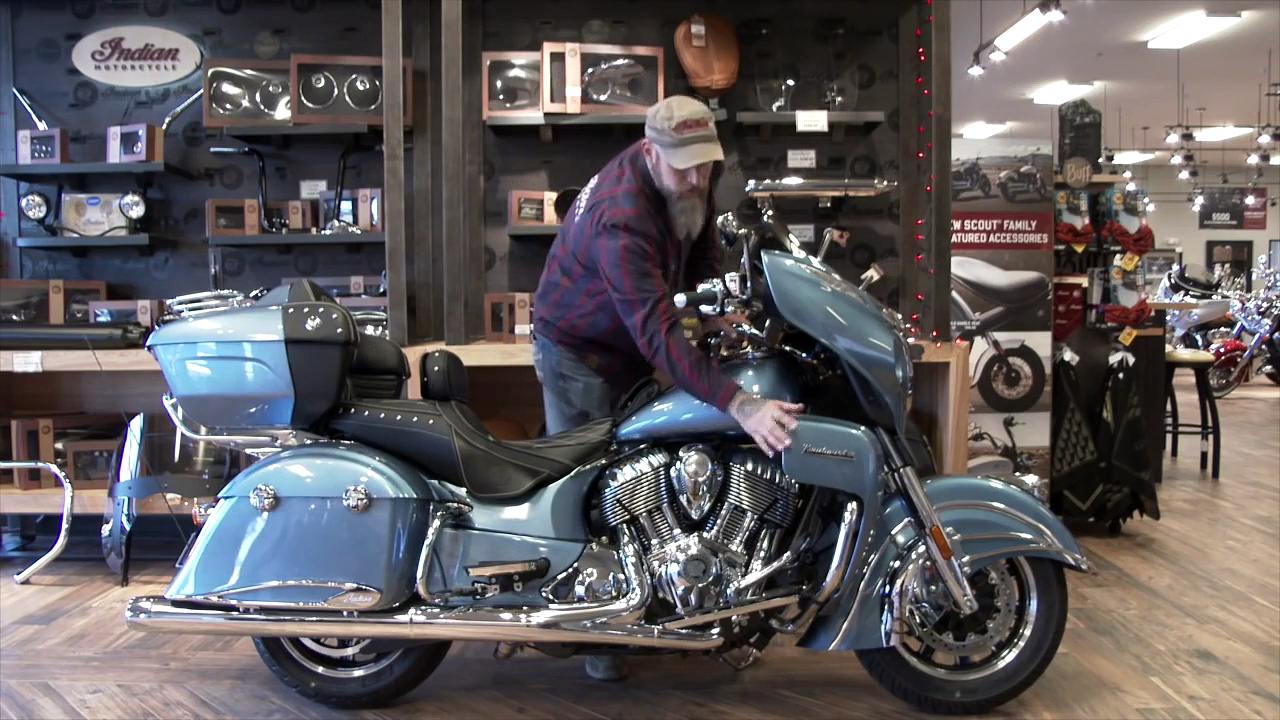 2016 Indian Motorcycle Roadmaster with 19 Accessories