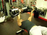 Snap Fitness 19 yr. old lifts 140lb dumbbells