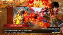 One Piece- Luffy(2 yr ago)-Luffy-Zoro VS Luffy  Gear 4°