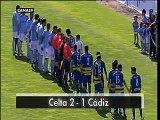 Celta 2 - Cádiz . Jornada 35. Liga Adelante 09/10.