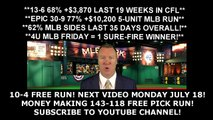 Free MLB Picks - Houston Astros vs Seattle Mariners Prediction 07-15-16 10 - 10PM ET