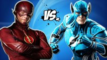 THE FLASH VS THE BLUE LANTERN FLASH - EPIC BATTLE