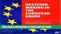 Read Decision-Making in the European Union (European Union (Paperback Adult))  Ebook Free