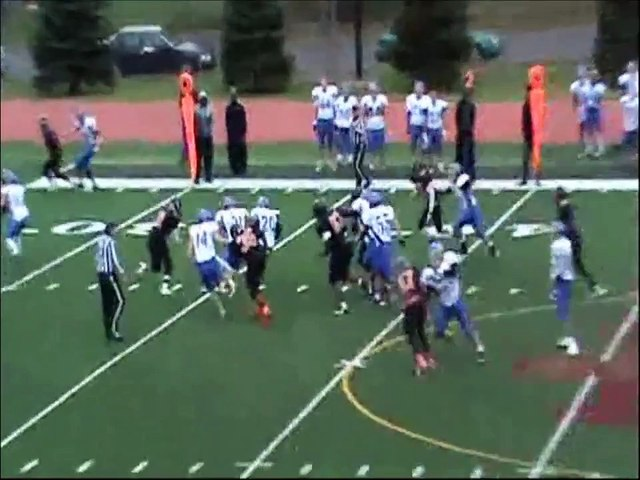 Walter Williams Vermilion Community College FR Highlights #20 RB