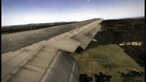 [FSX] Landing At Lyon St Exupery Boeing 767-300 Air Canada
