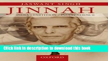 Read Jinnah: India, Partition, Independence  Ebook Online