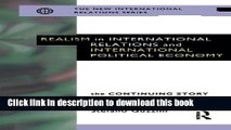 Read Realism in International Relations and International Political Economy: The Continuing Story