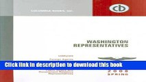 Read Washington Representatives Spring 2008: A Compilation of Washington representatives of the