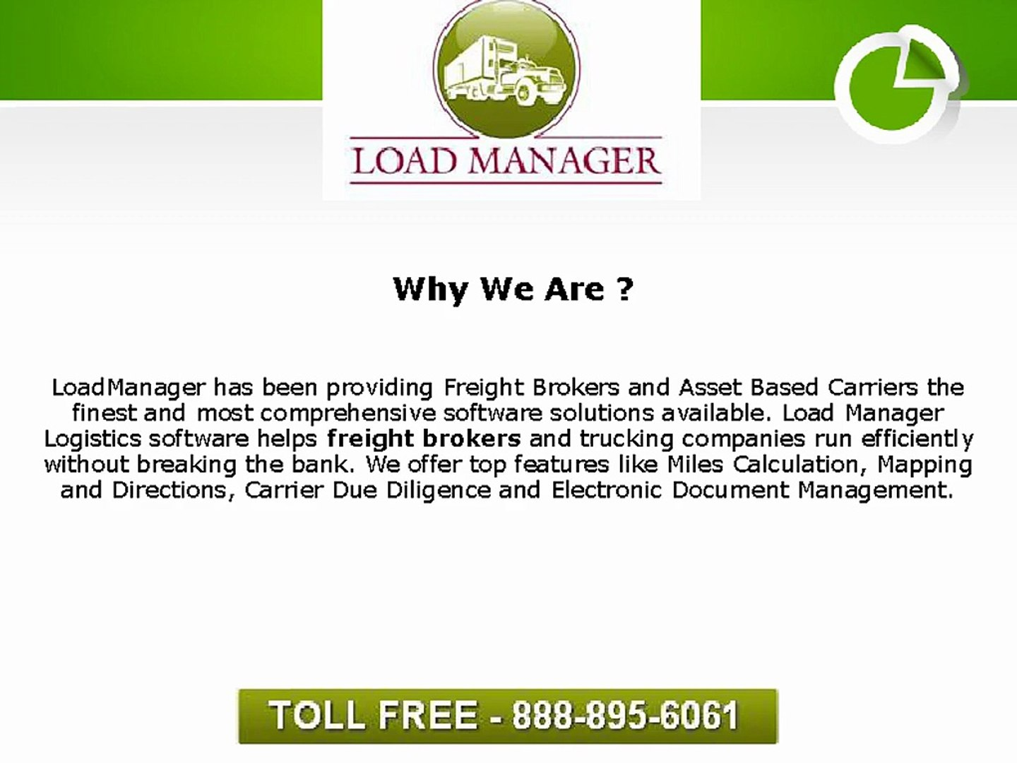 LoadManager's Freight Broker Software Starts at Only $39 a Month