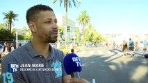 """Attentat à Nice: """"Le camion nous a frôlés"""", témoigne Jean-Marie"""