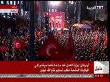 كلمة صديق اردوغان ورئيس الوزراء السابق داوود اوغلو بعد فشل الانقلاب