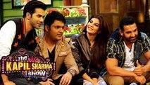 The Kapil Sharma Show | Dishoom Movie Promotions | Johan Abraham, Jacqueline Fernandez, Varun Dhawan