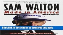 Read Sam Walton: Made In America Ebook Free