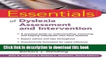 Read Book Essentials of Dyslexia Assessment and Intervention ebook textbooks