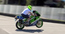 THREE MINUTES OF MADNESS WITH KAWASAKI ZXR 400 YEAR 1990