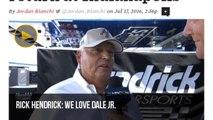 [Newsa] NASCAR team owner Rick Hendrick hopeful Dale Earnhardt Jr. can return at ...