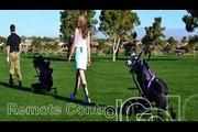 Sunrisegolfcarts provides remote control golf cart that follows you