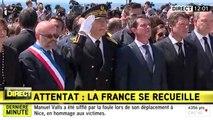 Manuel Valls sifflé à Nice. Zap actu du 18/07/2016 par lezapping