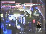 Cámaras del ECU-911 graban impactantes accidentes de tránsito