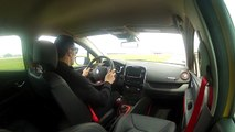 Le tour chrono de la Ferté Gaucher à bord de la Renault Clio RS
