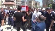 Elazığ Şehit Özel Harekat Polisi Elazığ'da Son Yolculuğuna Uğurlandı