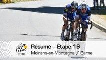 Résumé - Étape 16 (Moirans-en-Montagne / Berne) - Tour de France 2016