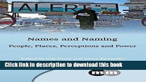 [PDF] Names and Naming: People, Places, Perceptions and Power (Multilingual Matters) Read Full Ebook