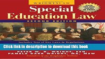 Read Wrightslaw: Special Education Law, 2nd Edition  Ebook Free