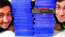La collection de 60 jeux PS4 de JOHAN