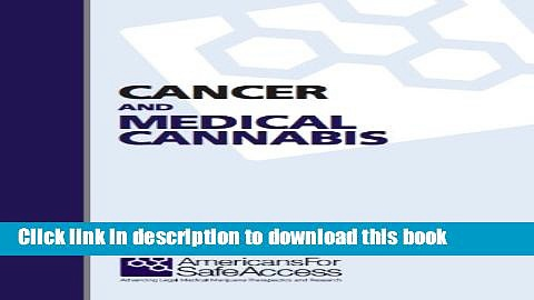[PDF]  Cancer and Medical Cannabis  [Read] Full Ebook