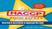 Download The HACCP Food Safety Employee Manual  Read Online