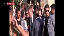 Cumhurbaşkanı Erdoğan'a vatandaşlardan sevgi gösterisi
