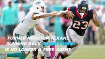 Former Pro Bowler Arian Foster signs one-year deal with Dolphins