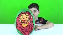 Aslan Koruyucular Oyun Hamuru Dev Sürpriz Yumurta açma the Lion Guard Oyuncakları