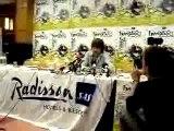 conférence de presse Francofolies