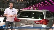 Genève 2013 - Toyota Auris Touring Sports : l'Auris a malle au dos