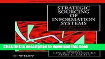 Read Strategic Sourcing of Information Systems: Perspectives and Practices  Ebook Free