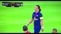 David Luiz 2016 - new hairdo and Stupid Own Goal.
