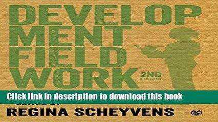 Read Development Fieldwork: A Practical Guide  Ebook Free